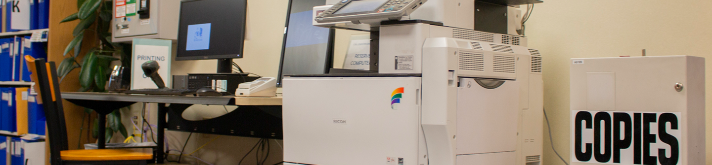 copy machine and scanner at Atascocita Branch Library