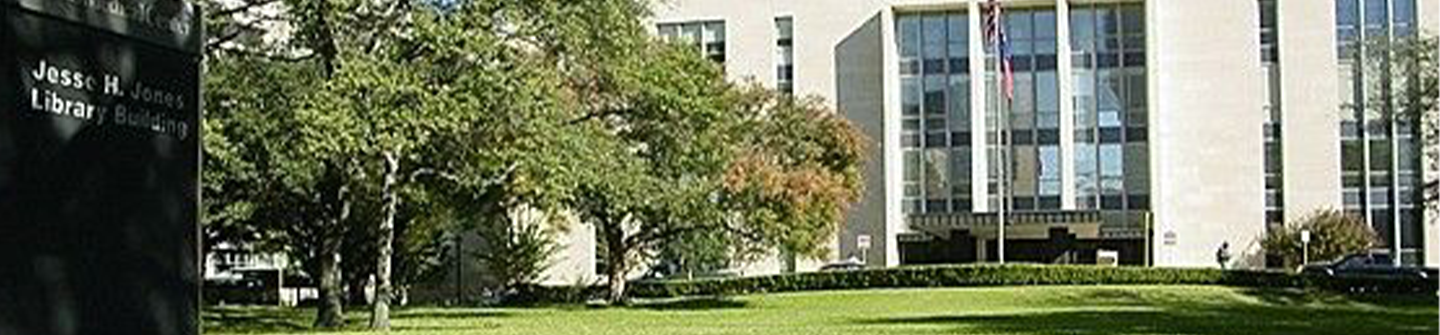 Exterior long shot of TMC Library Building