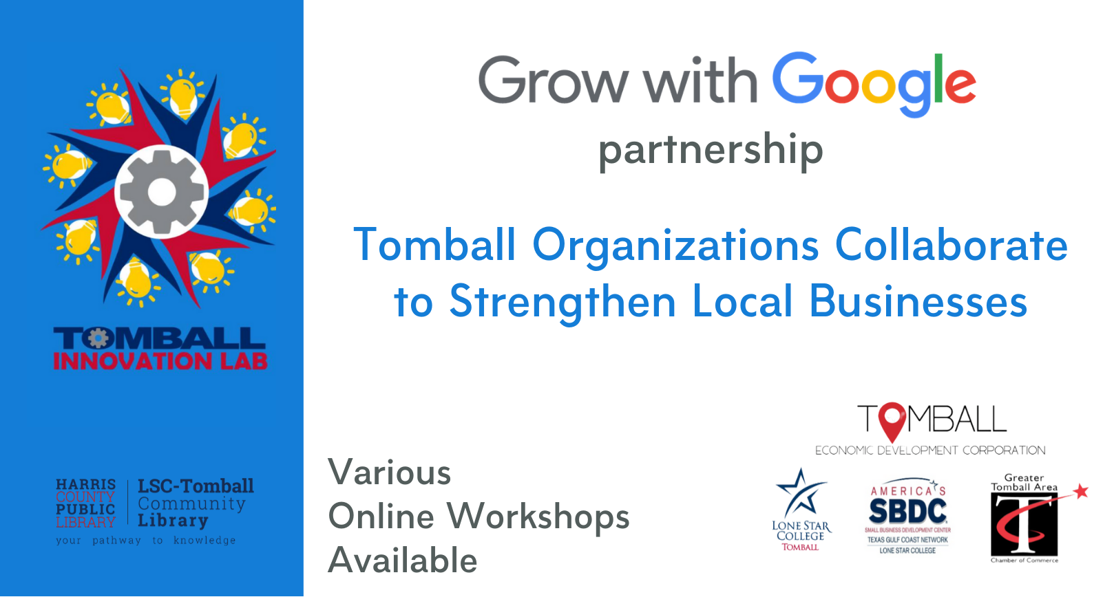 Tomball Innovation Lab partners with Google