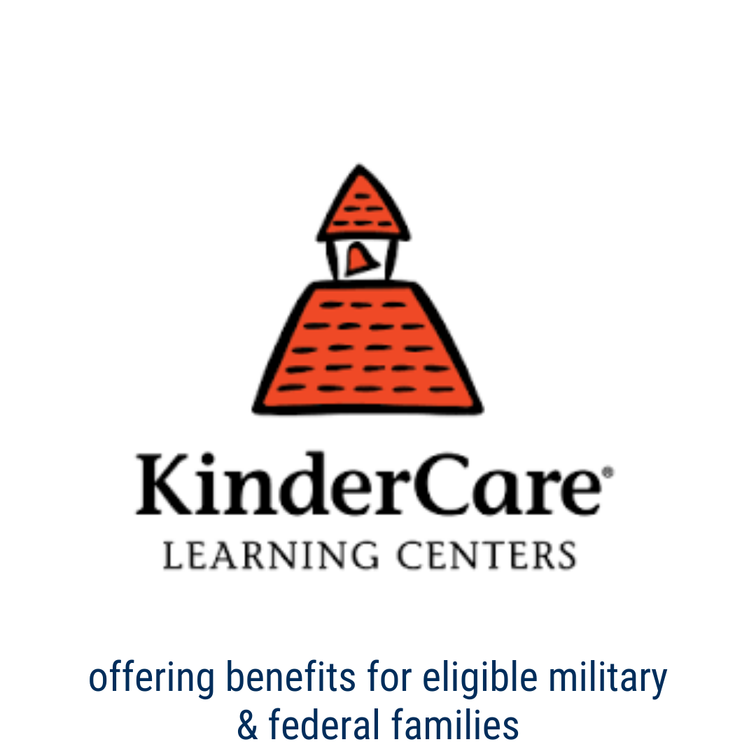 kinder care offers benefits for eligible Military and Federal Families