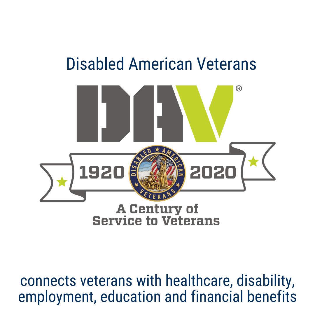 Disabled American Veterans connects veterans with the healthcare, disability, employment, education and financial benefits