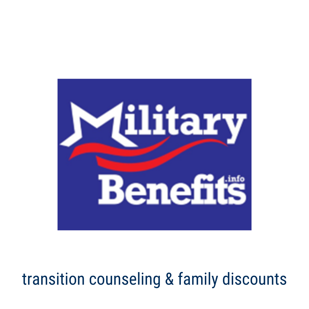 military benefits - Transition Counseling & Family Discounts