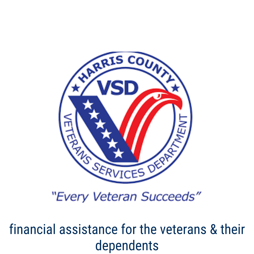 Harris Co. Veterans Services Dept: Financial Assistance for the Veterans and their dependents