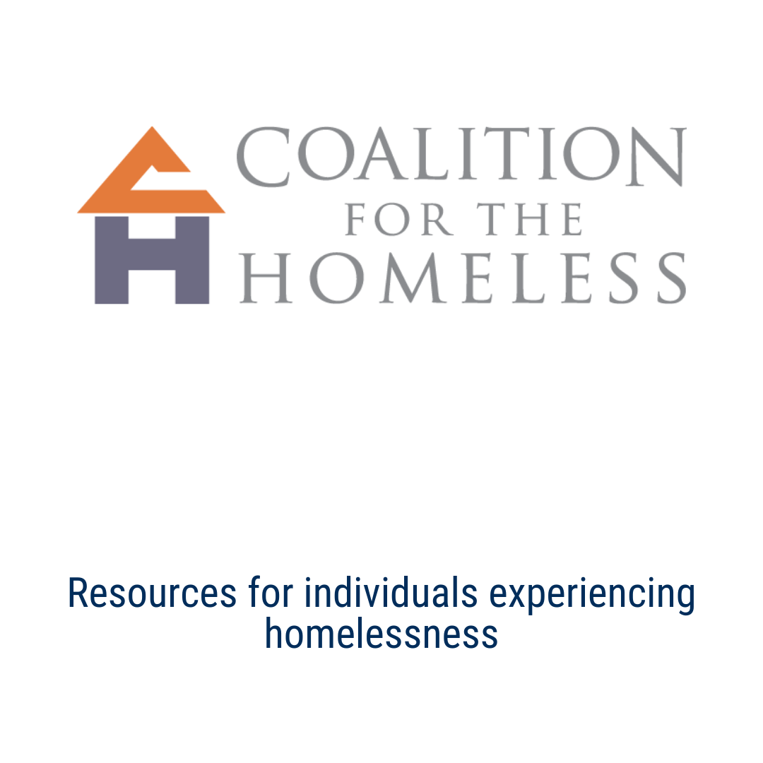 homelesshouston.org - Houston Coalition for the Homeless: Resources for individuals experiencing homelessness
