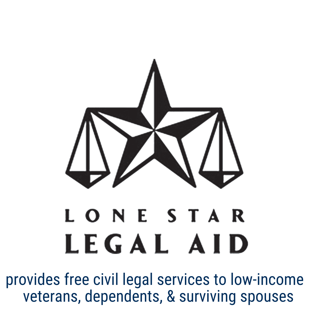 Lone Star Legal Aid provides civil legal services to low-income veterans, dependents and surviving spouses
