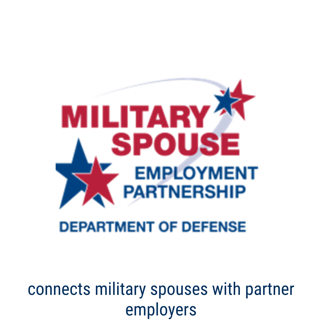 military spouse employment network Connects military spouses with partner employers who recruits and    hires.