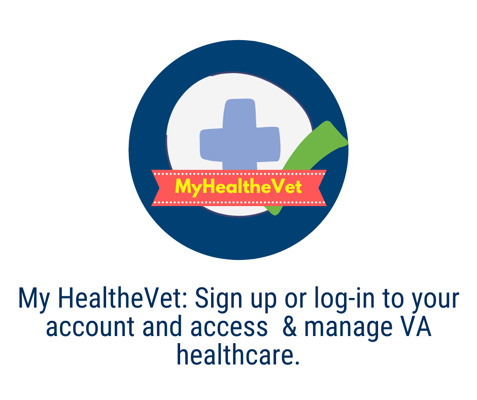 My HealtheVet: Sign up or log-in to your account and access and manage your VA healthcare.