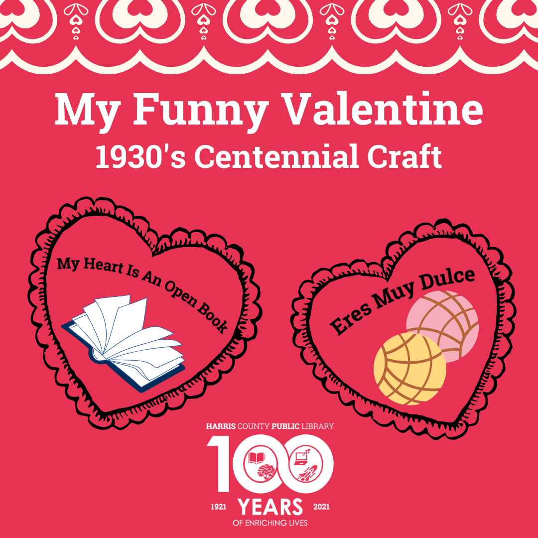 1930s valentine craft graphic