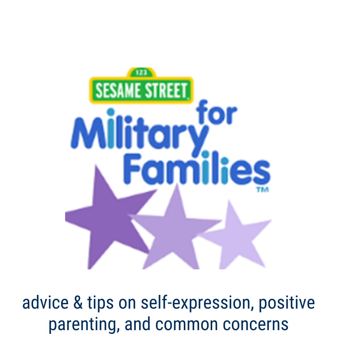 sesame street for military families - Advice and tips to find information on self-expression, positive parenting, and common concerns