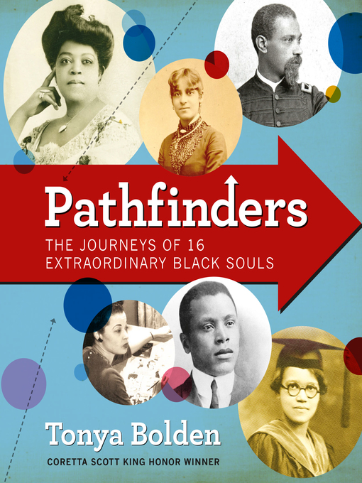 Cover of Pathfinders: The Journeys of 16 Extraordinary Black Souls