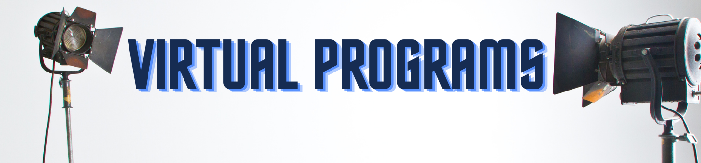 virtual program banner logo