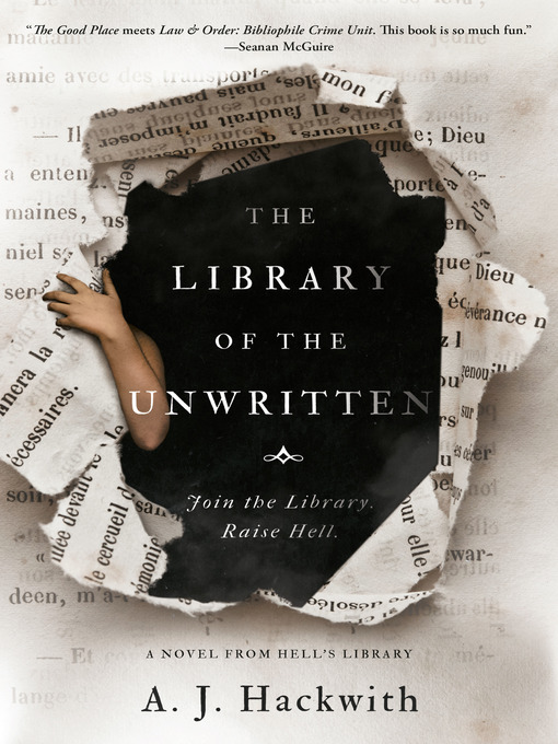 The Library of the Unwritten Book Covert