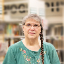 Diane Barker, Branch Manager, Crosby Library