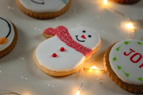Holiday Cookie Snowman