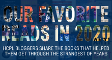 Text Graphic with book covers: Our Favorite Reads in 2020