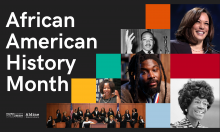 African American History Month Banner