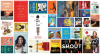 A collage of books covers for all ages derived from the most checked out books for adults, teens and kids in 2019